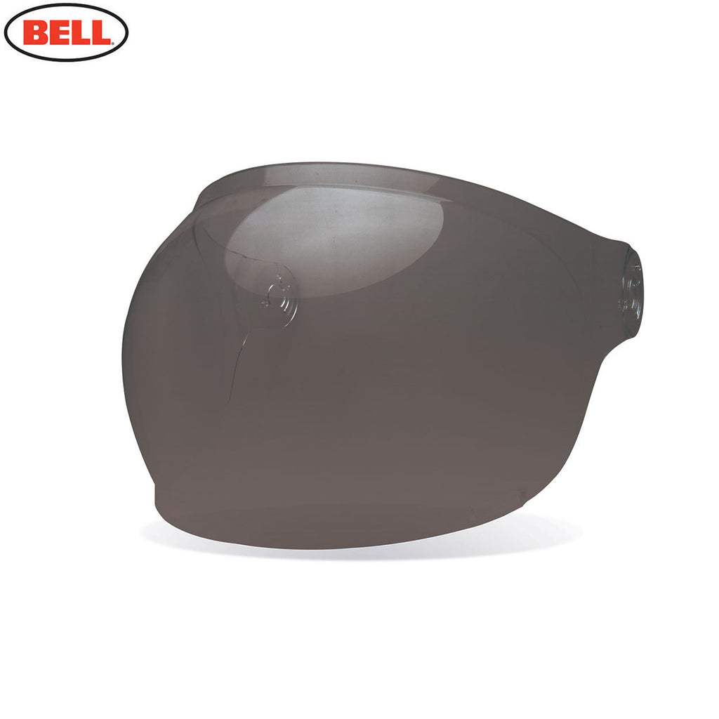 Bell Bullitt Helmet Bubble Shield / Visor (Black Tabs) Dark Smoke - Bell -  - MSG BIKE GEAR