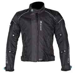 Spada Air Pro 2 Men's Motorcycle Jacket Inc Waterproof OverJacket - Black - Spada -  - MSG BIKE GEAR - 1