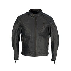 Richa Donington Classic Leather Bike Jacket - Black