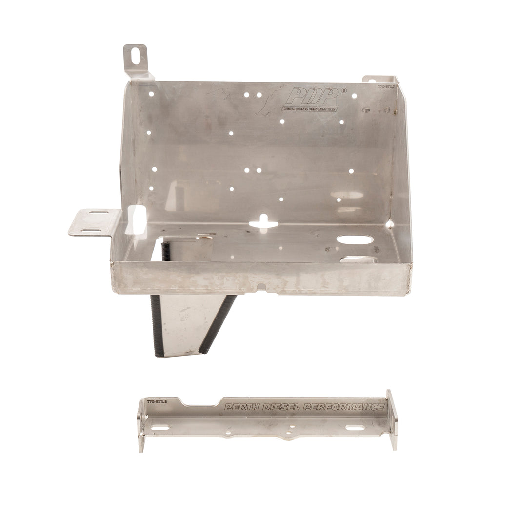 (BACKORDER) PDP Stainless Battery Tray - 76/78/79 2007 - 2019 model