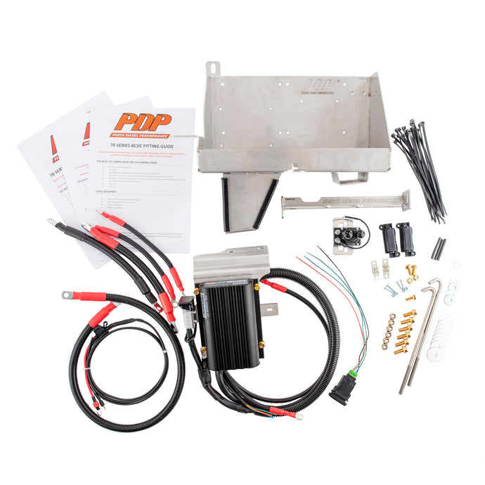 PDP Deluxe dual battery kit 70 series Landcruiser