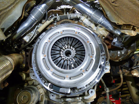 NPC 1300nm clutch with Billet Flywheel - HDJ70 Landcruiser 1HDT-FTE Engine
