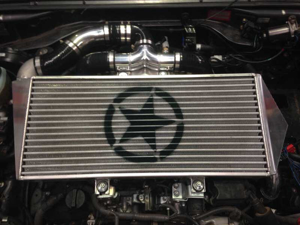 Cross Country Intercooler - V8 70 series Landcruiser