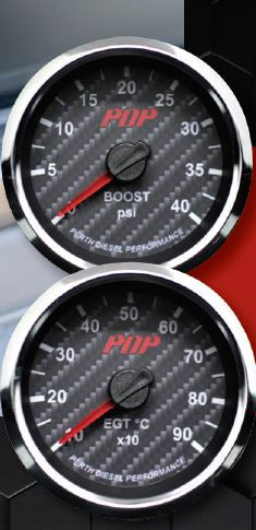 PDP Boost/EGT Gauges + PDP Pillar Pod DIY kit GENERATION 2