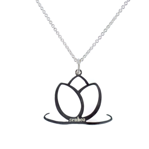 Sterling Silver Charmed by Senhoa Pendant - Necklace - Senhoa UK - 1