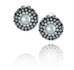 Melanie Single Pearl Earrings - Earrings - Senhoa UK - 1