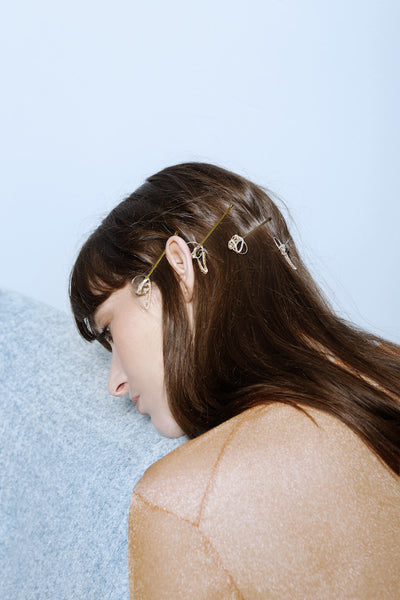 The Enchanting Handmade Grips - Hair Jewellery - Senhoa UK - 5