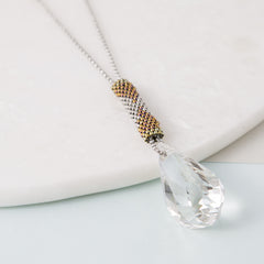 Helix Swarovski Pendant Necklace