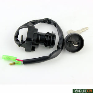 159.1005 - Ignition Switch - Kawasaki Oem Ref #27005-1132/1159/1201 - Rødkilde ATV