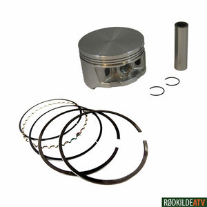 190.10000-4 - Piston Kit TRX450 S/ES 98-04 OS 1.00 - Rødkilde ATV
