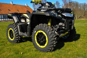 Can-Am Outlander 1000 X XC 82hk Black- Silver-Yellow (1XKC)