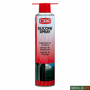 210.0110 - CRC SILICONE SPRAY  400 ML - Rødkilde ATV