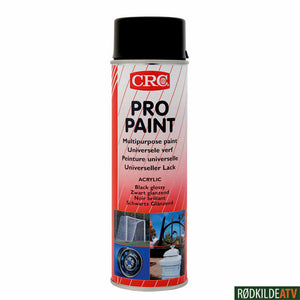 210.0320 - CRC PRO PAINT BLACK MATT 500 ML - Rødkilde ATV