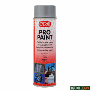 210.0340 - CRC PRO PAINT SILVER 500 ML - Rødkilde ATV