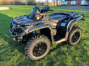 Can-Am Outlander 650 XT 59hk - Iron Gray & Octane Blue - (2PME)