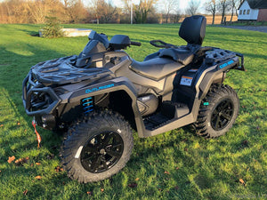 Can-Am Outlander 650 XT 59hk MAX - Iron Gray & Octane Blue - (2SMJ)