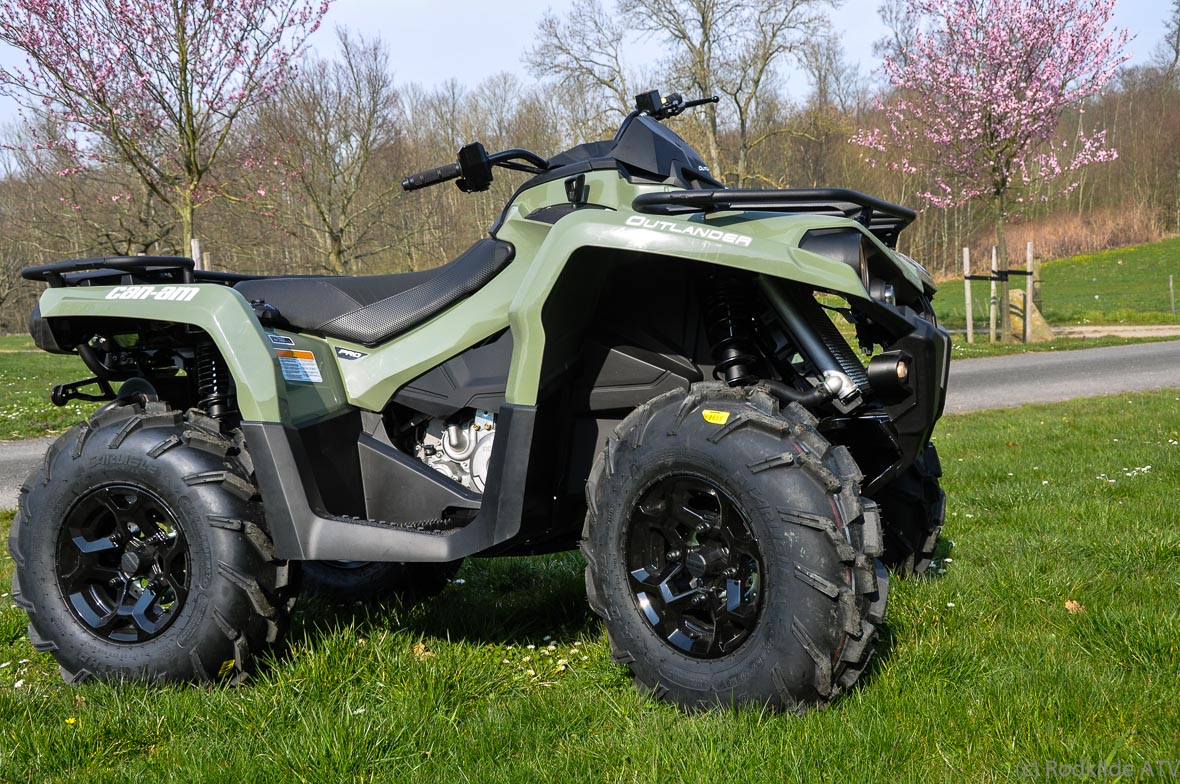 Can-Am Outlander 450 PRO 38hk Green (3NLA)