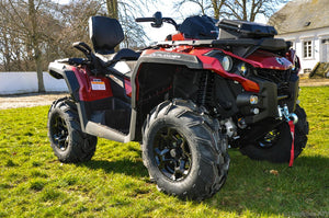 Can-Am Outlander MAX 650 PRO 59hk Intense red (3TKA)