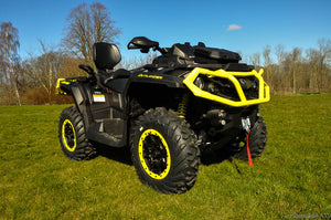 Can-Am Outlander MAX 1000 XT-P 82hk Black - Sunburst Yellow (5JKC)