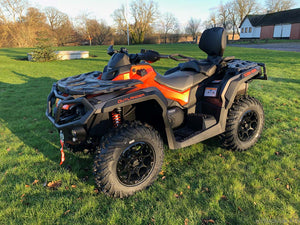Can-Am Outlander MAX 1000 XT-P 82hk - Orange & Carbon black - (5LMA)