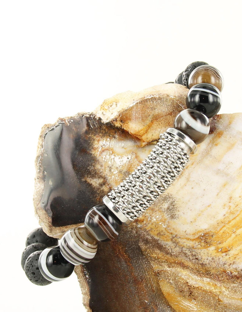 Beads Twisted Chains Silver