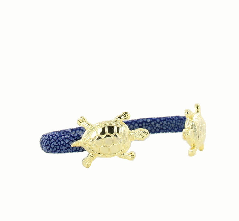 Mr Turtle Bangle Gold Stingray