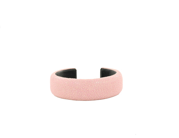 Exotic Leather Bangle