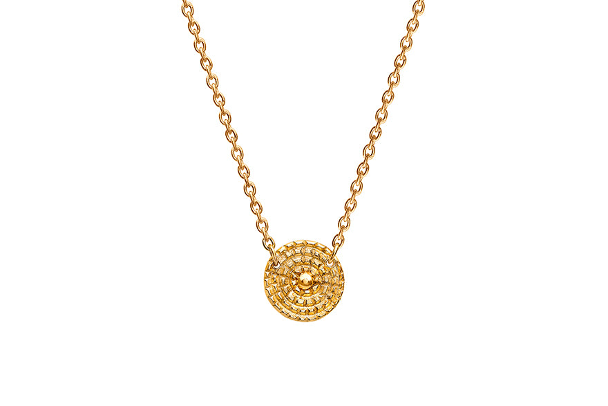 Chakra Gold Necklace