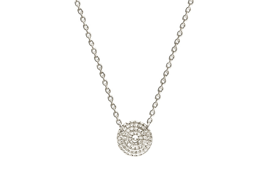 Chakra Silver Necklace