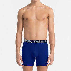 Klein Boxer Shorts For Men-Dark Blue-BE4209