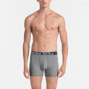 Klein Boxer Shorts For Men-Gray-BE4214