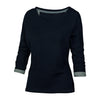 Fat Face Stylish Blouse For Ladies-Dark Navy-BE5612