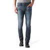 DIESEL Dark Blue Slim Fit Stretch Denim For Men With Dirty Wash-NA7757