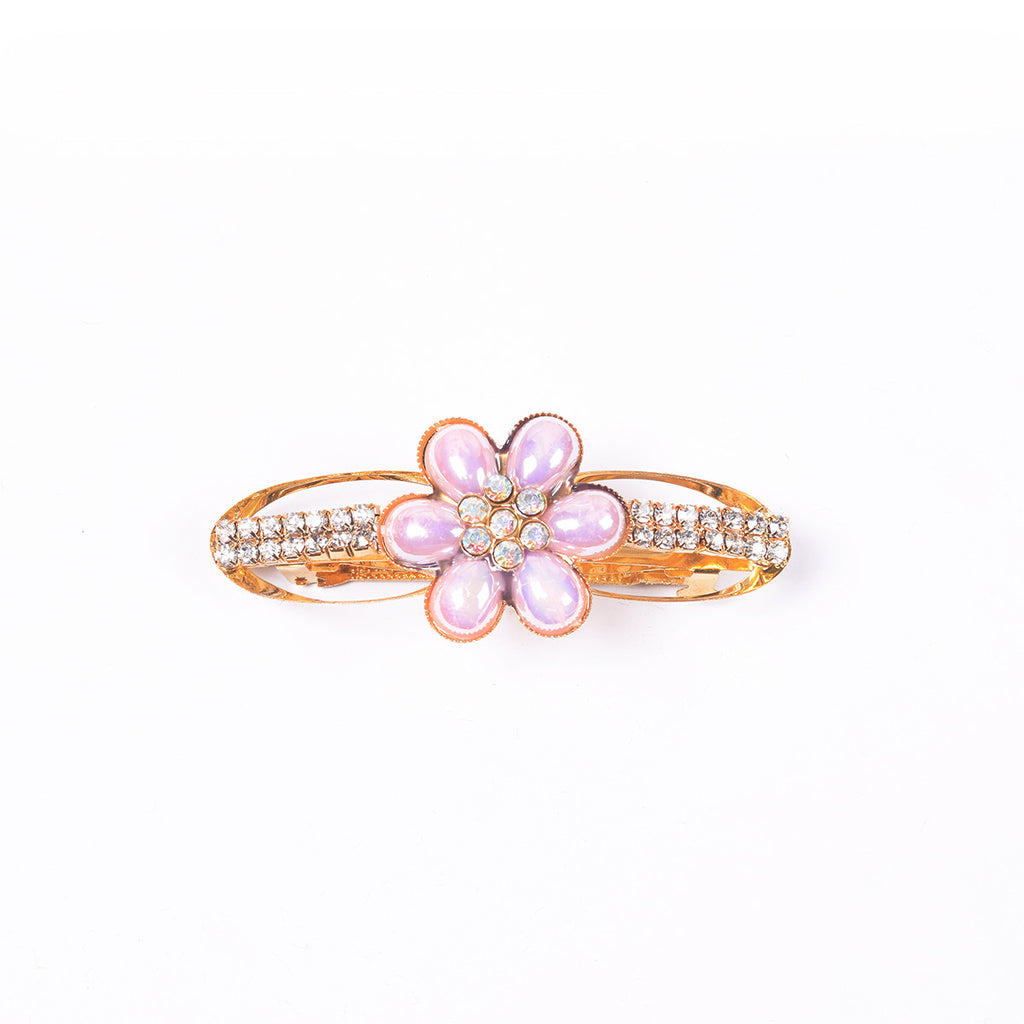 "Ladie's ""Hair Clip Pink""- BE338"