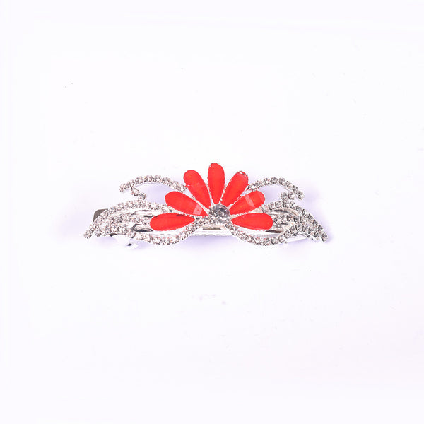 "Ladie's ""Hair Clip Red""- BE353"