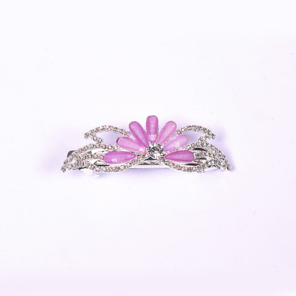 "Ladie's ""Hair Clip Light Purple""- BE355"