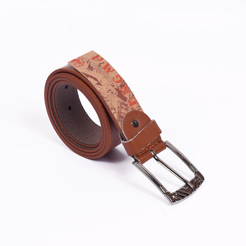 Men's Belt-Dark Camel-BE259