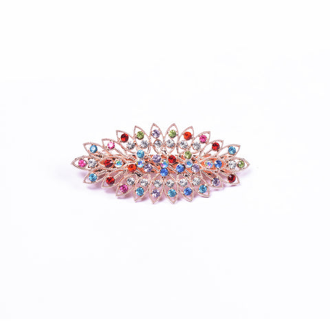 "Ladie's ""Hair Clip Multi Color""- BE358"