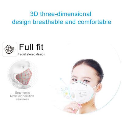 KN95 Self-Priming Filter Anti-Particulate Respirator Disposable Mask-NA11456