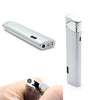 Steel Windproof Butane Silver Lighter-NA211