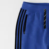 Adidas Single Jersey Slim Fit Jogger Trouser For Men-Light Blue With Black Stripes-NA8244