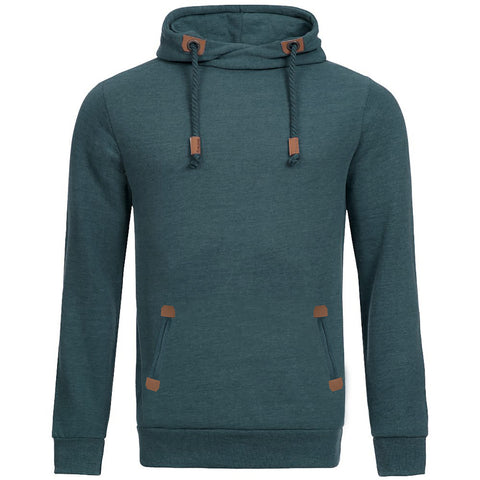 "Men's ""Sublevel"" Stylish Pull Over Fleece Hoodie-BB14"