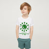 14 August Independence Day Printed Crew Neck T Shirt For Kids-White-NA5973