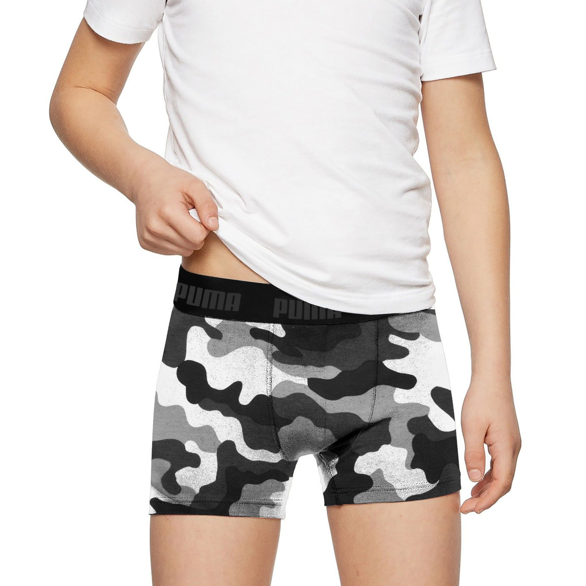 Puma Boxer Shorts For Kids-Camouflage-SP2715