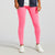 NK Leggings For Women-Pink-NA11078