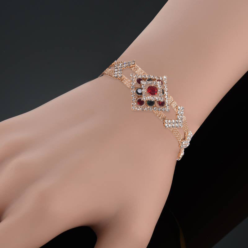 Ladies Stylish Italian Hand Bracelets-BE430