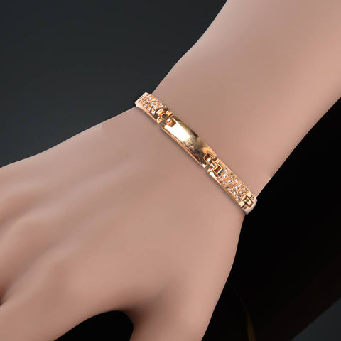 Ladies Stylish Italian Hand Bracelets-BE461