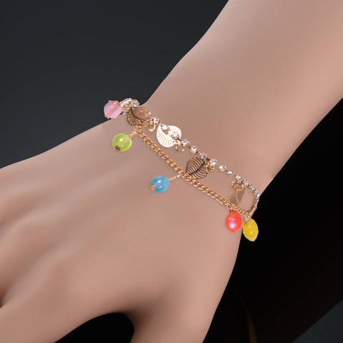 Ladies Stylish Italian Hand Bracelets-BE458