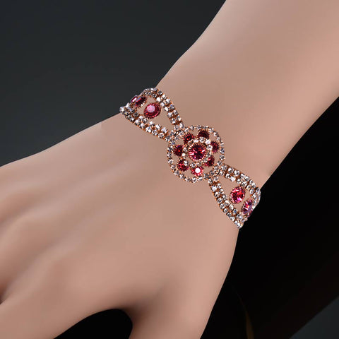 Ladies Stylish Italian Hand Bracelets-BE446