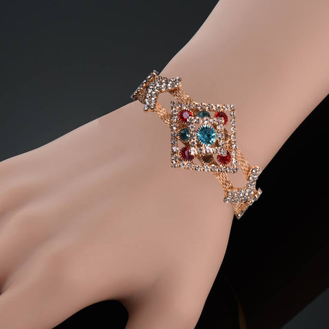 Ladies Stylish Italian Hand Bracelets-BE457
